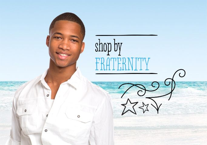 Shop by your Fraternity