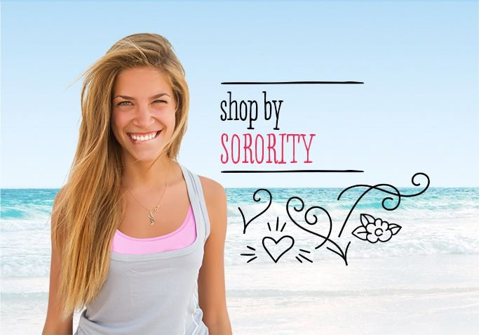 Shop by your Sorority