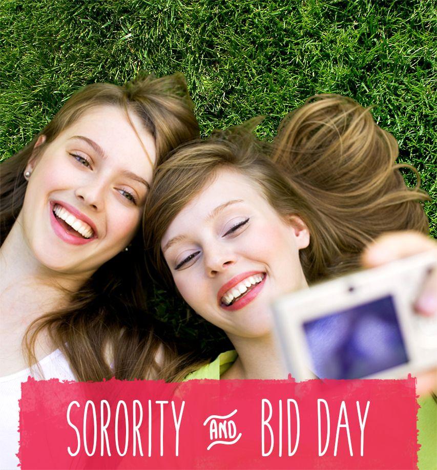 Sorority Bid Day t shirts