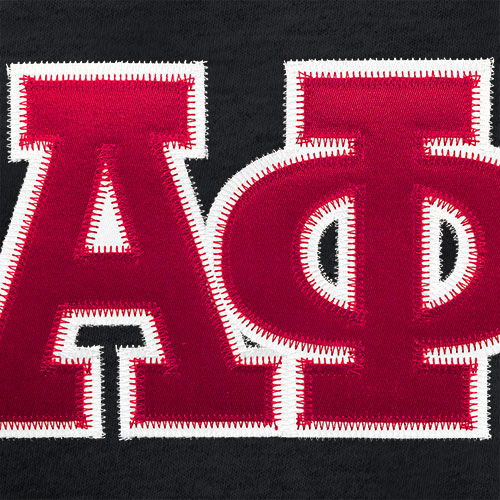 Sewn On Letter Options